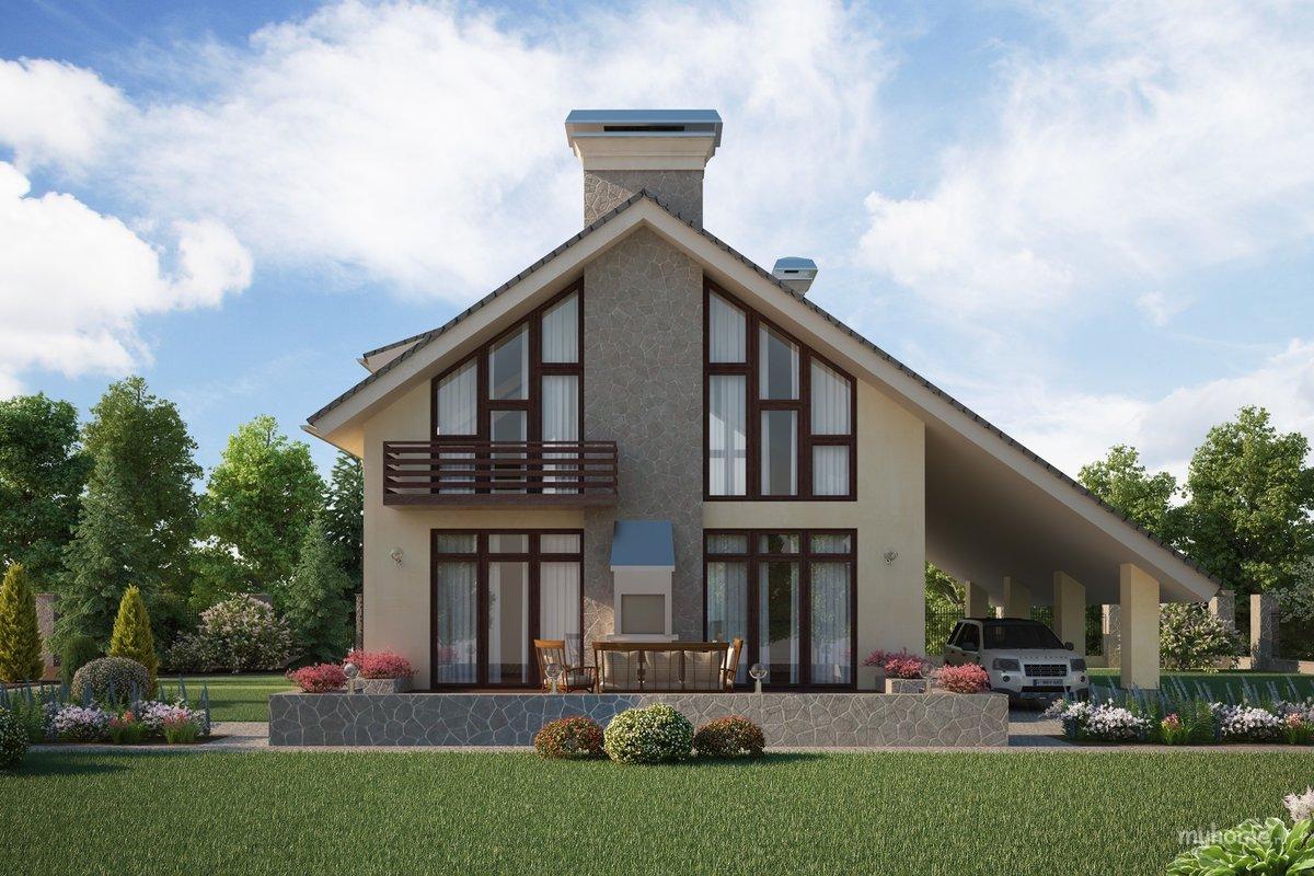 смотреть фото красивых проектов домов находятся